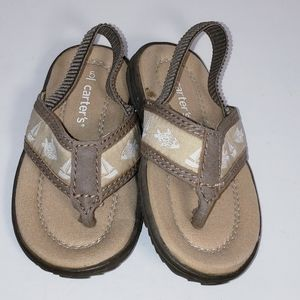 NEW Carter's Thong Sandals Size 5 Baby